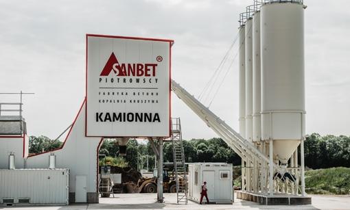 Fabryka betonu - KAMIONNA